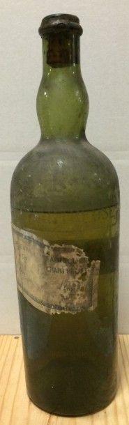1 Litre CHARTREUSE jaune (avant 1903, eta, capsule cassée, V)