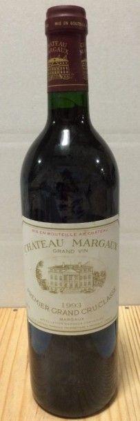 1 Bouteille CH. MARGAUX, 1° cru Margaux 1993...