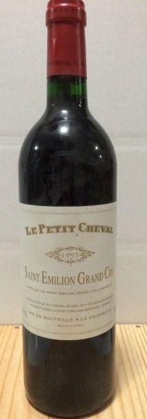 1 Bouteille LE PETIT CHEVAL, St-Emilion ...