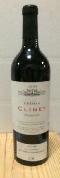 1 Bouteille CH. CLINET, Pomerol 2004