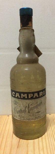 1 bouteille CAMPARI bitter (blanc) années...