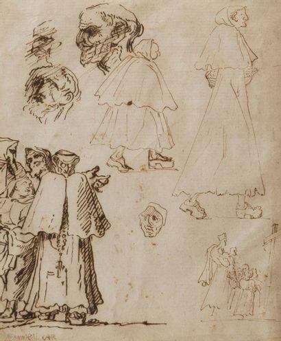Attribué à Agostino CARRACHE (Bologne 1557- Parme 1602)