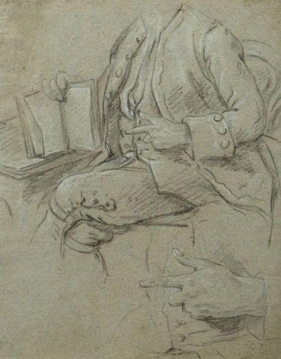 Attribué à Louis TOCQUÉ (Paris 1696 - 1772)