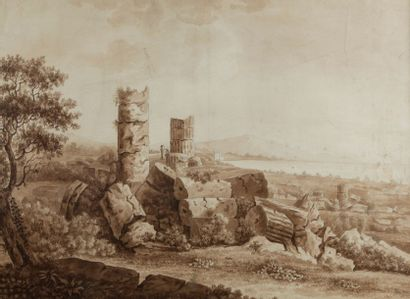 Attribué à Jean Baptiste TIERCE (Rouen 1737 – Florence après 1790)