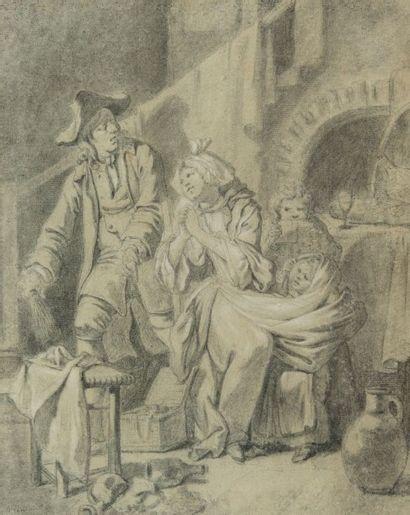 Johann Eleazar Zeizig dit SCHENAU (Gross Schonau 1737 – Dresde 1806)