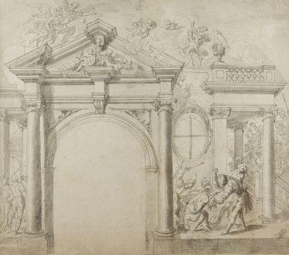 ÉCOLE ALLEMANDE de la fin du XVIIe siècle