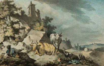 Ecole flamande vers 1800