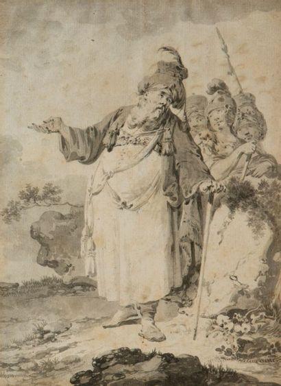 Attribué à Jean-Baptiste HILAIRE (Audun-Le-Tiche 1753 – Paris 1822)