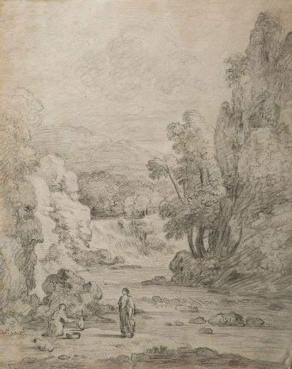 Attribué à Flaminio ALLEGRINI (Gubbio 1587 - Rome 1663)