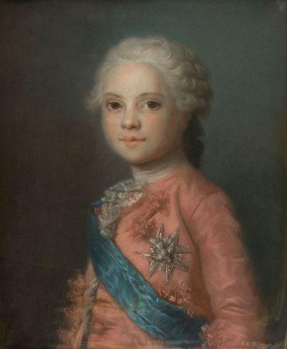Ecole française vers 1800, d'après Maurice QUENTIN DE LA TOUR (Saint-Quentin 1704 - 1788)