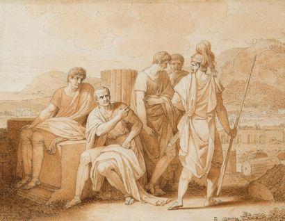 Attribué à Jean Charles Nicaise PERRIN (Paris 1724 – 1831)