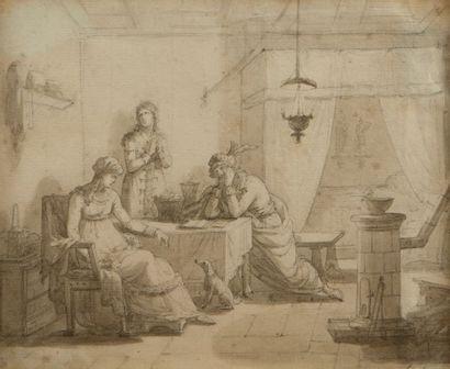Jean Baptiste ISABEY (Nancy 1767 – Paris 1855)