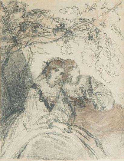 Franz-Xavier WINTERHALTER (Menzenschroand 1805 – Francfort 1873)