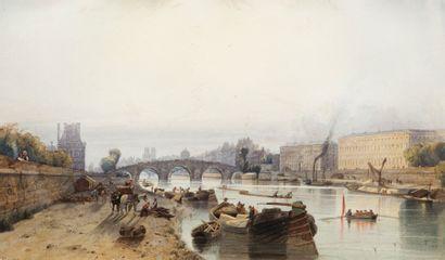 Alexandre FRANCIA (Londres 1815 – Bruxelles 1884)