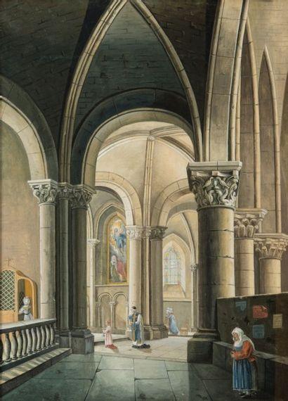 Antonia MINEL (Ecole française du XIXème siècle)