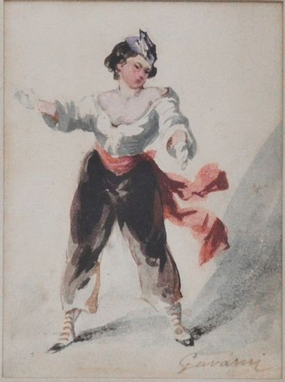 Sulpice Guillaume CHAVALIER dit Paul GAVARNI (Paris 1804 – 1866)