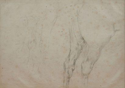 Attribué à Ferdinand Victor Eugène DELACROIX (Charenton-Saint-Maurice 1798 - Paris 1863)