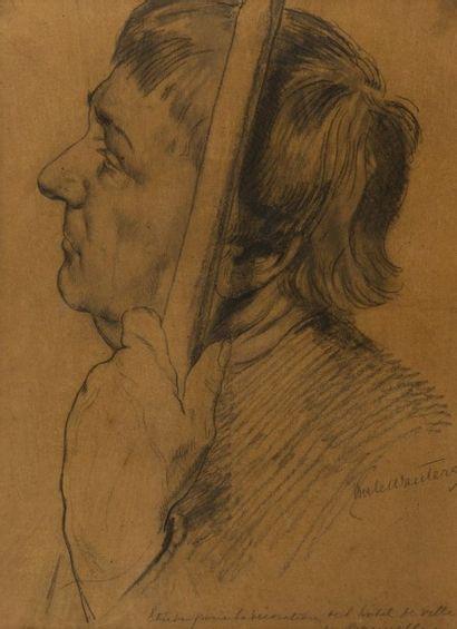 Emile Charles WAUTERS (Bruxelles 1846 - Paris 1933)