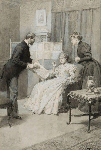 Ludovico MARCHETTI (Rome 1853 – Paris 1909)