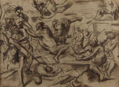 Attribué à Giovanni Battista BEINASCHI (Turin 1636 – Naples 1688)