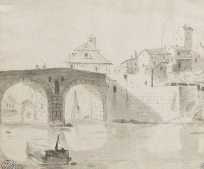 Attribué à Jan ASSELYN (Dieppe 1610 – Amsterdam 1652)