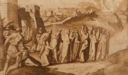 Attribué à Giovanni GUERRA (Modène 1544 - Rome 1618)