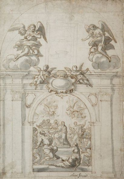 Giuseppe Nicola NASINI (Castel del Piano 1657 – Sienne 1736)