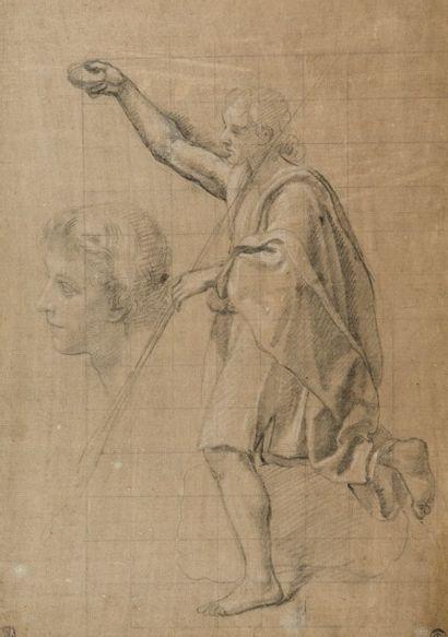 Attribué à Etienne PARROCEL dit le Romain (Avignon 1696 – Rouen 1776)