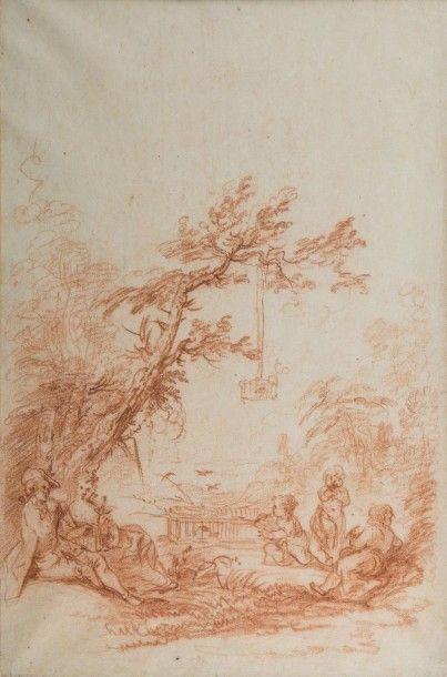 Attribué à Pierre Antoine QUILLARD (Paris 1700 - Lisbonne 1733)