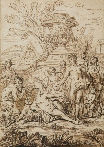 François ROETTIERS le jeune (Paris 1702 - 1770)