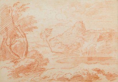 Ecole française du XVIIIe siècle, dans le goût de Gaspard DUGHET (Rome 1615-1675)