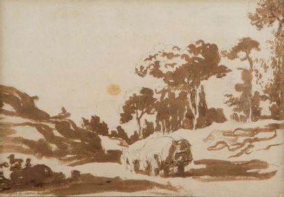 Attribué à Pierre LELU (Paris 1741 – 1810)