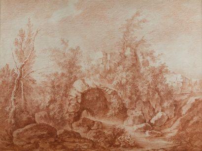 Attribué à Jacques François BLONDEL (Rouen 1705 - Paris 1774)