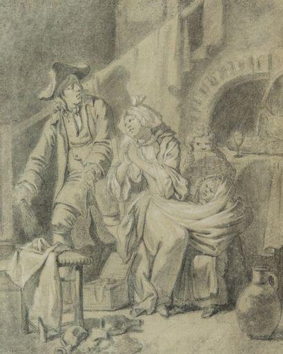 Johann Eleazar Zeizig dit SCHENAU (Gross Schonau 1737 - Dresde 1806)