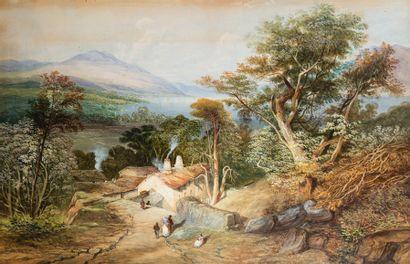 *Ecole ANGLAISE du XIXème siècle d'après Thomas Miles RICHARDSON