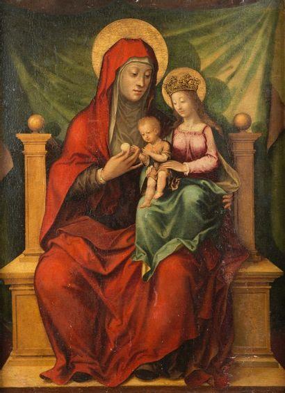 Peintre travaillant en BOURGOGNE vers 1530