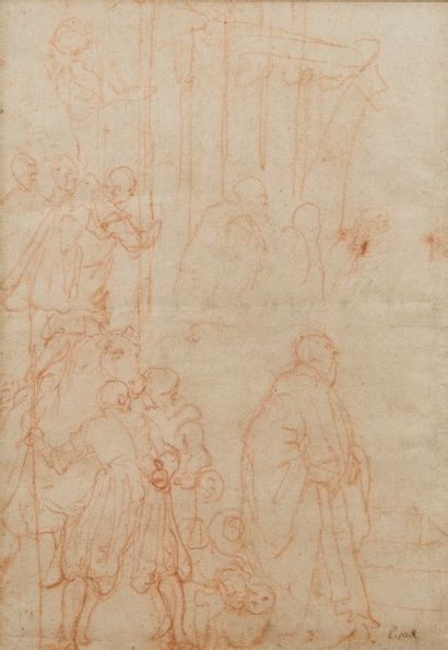 ATTRIBUÉ À FEDERICO ZUCCARO (San Angelo in Vado 1540 - Ancone 1609)