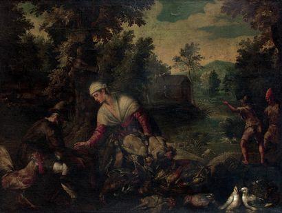 Paolo FRANCESCHI dit Paolo FIAMMINGO ou Pauwels FRANCK  (Anvers 1540 - Venise 1596)...