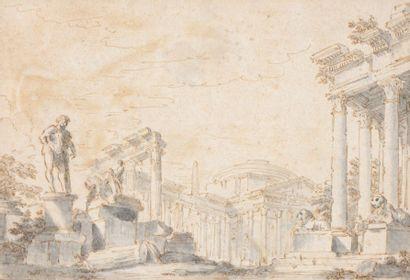 Attribué à Giovanni Paolo PANINI (1691-1765)