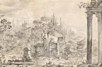 Attribué à Isaac de MOUCHERON (1667-1744)