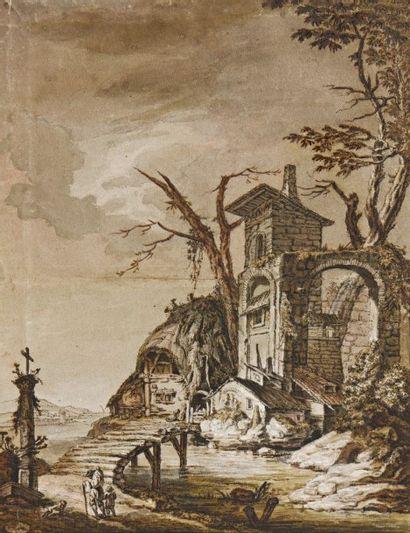 Attribué à Franz Edmund WEIROTTER (1733-1771)