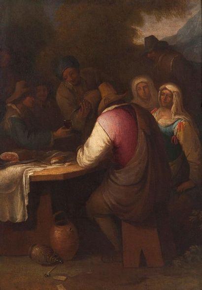 Ecole de l'ITALIE du NORD vers 1700