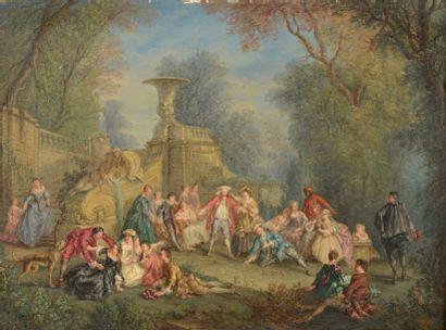 Attribué à Alexandre-Paul-Joseph VERON BELLECOURT (1773-1838)