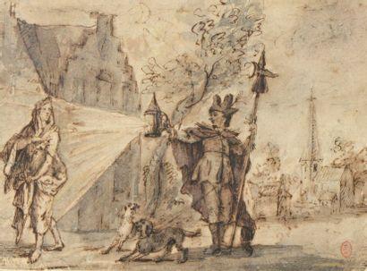 Attribué à Claude GILLOT (1673-1722)