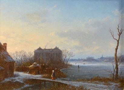 Ecole Hollandaise du XIXème siècle