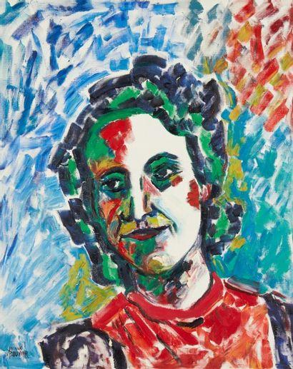 Amand BOUVIER (1913-1997)  Portrait de mon...