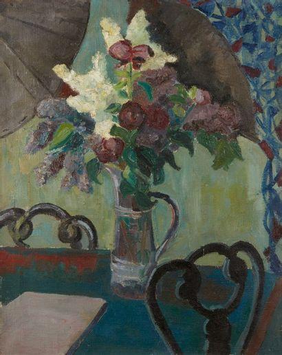 Andrée POLLIER (1916-2009)  Le bouquet de...