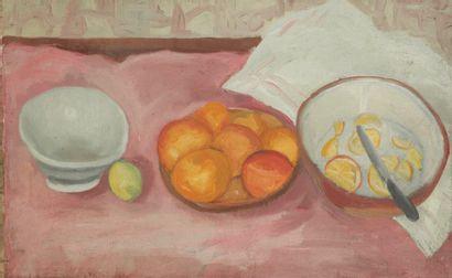 Andrée POLLIER (1916-2009)  Composition aux...