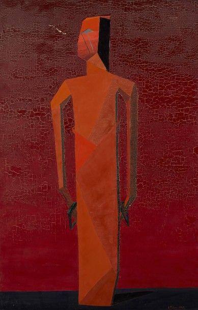 Andrée POLLIER (1916-2009)  Toutankhamon,...