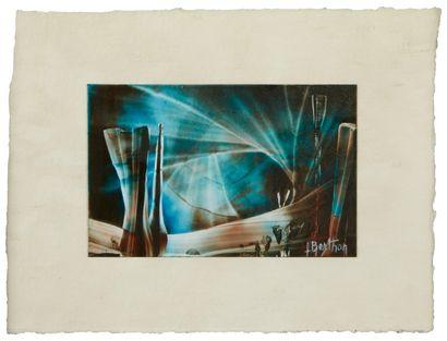 Lucienne BERTHON (1926 - Paris 2012)  La...
